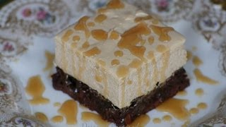www.dessertsrequired.coms Caramel Macchiato Brownies