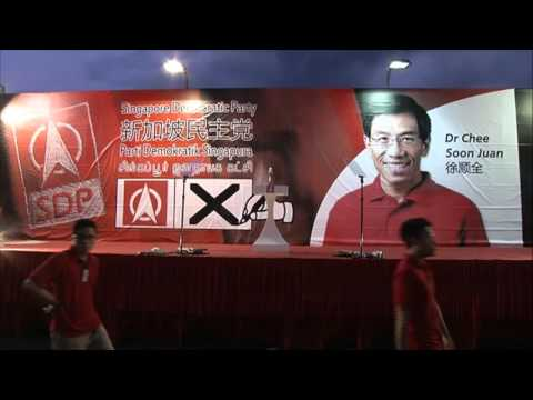LIVE: SDP Rally, Bukit Batok by-election