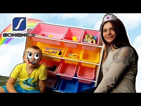 Colorati Ripiani SongMics Con La Divertente Pasta Play-Doh - Video Di Cucina Per Bambini
