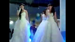 БлизНЯШИ - невесты поют на свадьбе родителям