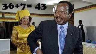BREAKING NEWS-PAUL BIYA OF CAMEROON DECLEAR HIS CANDIDATURE FOR THE NEXT 7YEARS.