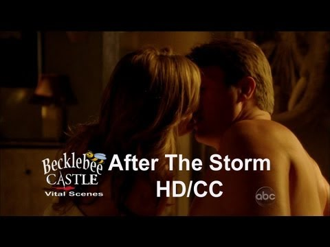 Castle 5x01 Morning After Scene  Part 1 Castle's Loft - After The Storm (HD/CC)