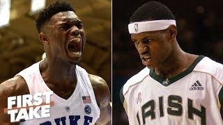Zion is the best prospect since LeBron - Stephen A. | First Take