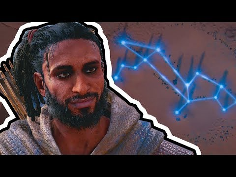 ASSASSIN'S CREED ORIGINS Gameplay Walkthrough Part 6 (PS4) - ALIGN THE STARS!