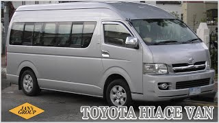 Toyota Hiace Van - Cars 4 U, FZCO Dubai Auction February 17, 2016