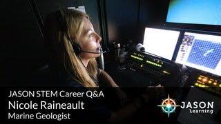 Nicole Raineault, Marine Geologist: JASON STEM Career Q&A