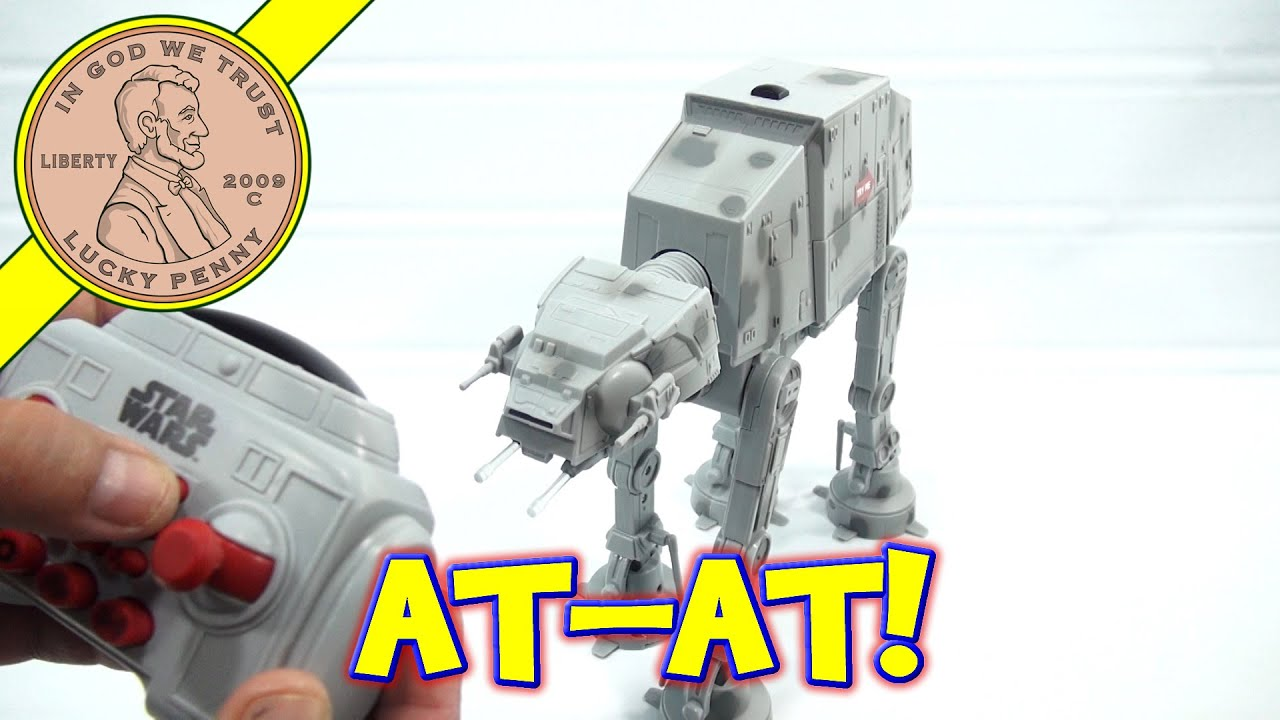 star wars at at u command with remote control toys r us exclusive youtube. Black Bedroom Furniture Sets. Home Design Ideas