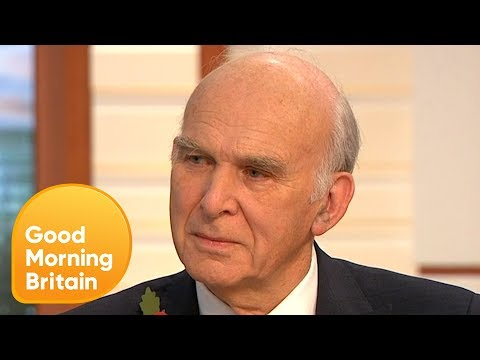 Vince Cable Says 'All Parties Have Had Genuine Cases of Sexual Harassment' | Good Morning Britain