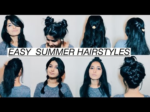 easy summer hair styles easy hairstyles for medium hair summer edition 3864 | hqdefault
