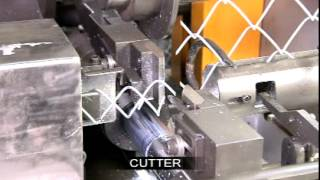 Chain Link Fence Machine. Mesh Making Machine. Fence Making Machine.