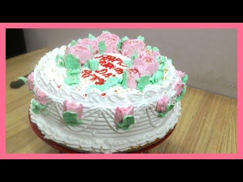 BIRTHDAY CAKE // VERY - VERY TASTY LICHI FLAVOUR : -