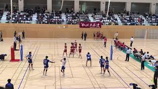 20181129 全日本インカレ 3回戦 福岡大学vs東海大学 3セット目