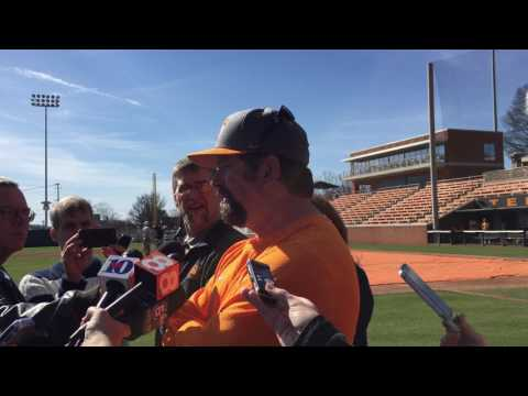 Todd Helton happy to be back at Tennessee