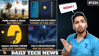 PUBG Mobile India 2021,FAU-G On Playstore,realme Gaming Phone,Samsung MOCO Phone,Xiaomi Play #1324