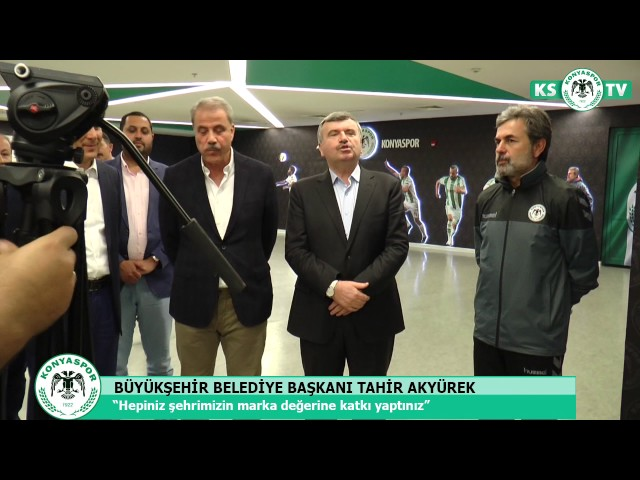Atiker Konyaspor'umuza moral ziyareti