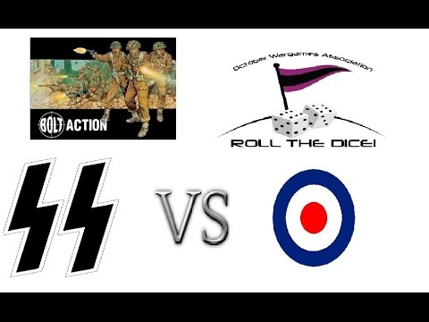 BA: Blaze of Glory II - Trial Game - Waffen SS vs British Infantry [V1 Rules] #EP7