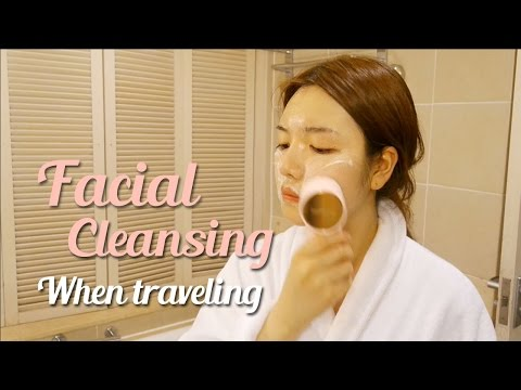 [ENG]해외여행 클렌징 루틴! - Facial Cleansing When Traveling | 다또아