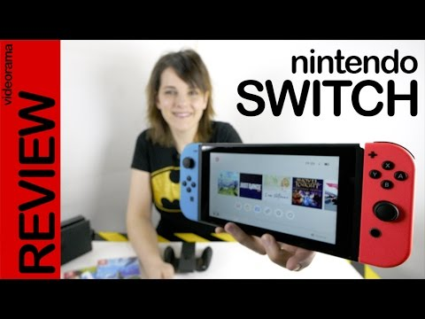 Thumbnail: Nintendo Switch review gameplay