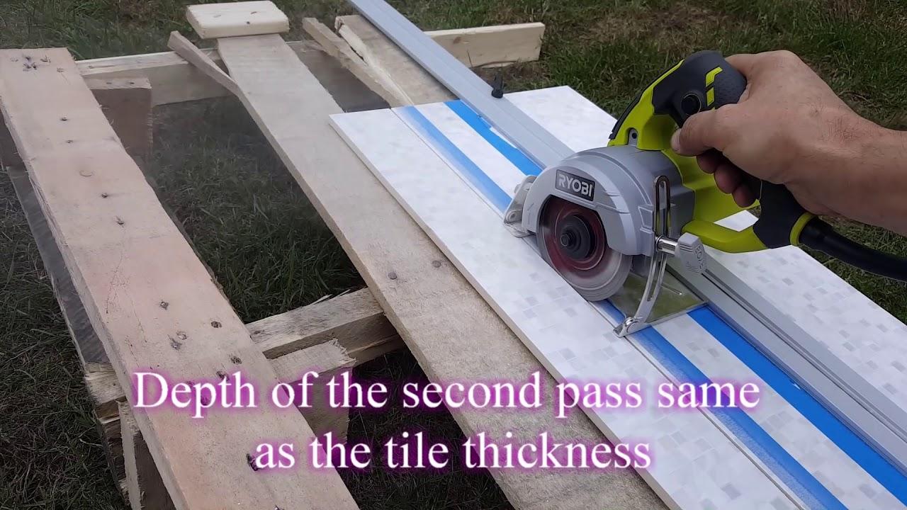 hand held tile saw for large tile rezka plitki ruchnoj piloj