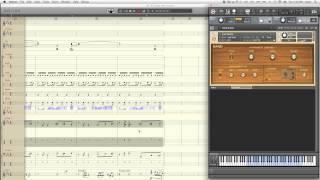 Notion 4: Recording MIDI CC Data to Sequencer Staffs