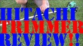 Hitachi/Tanaka Trimmer Review (CG22EAS SLP)