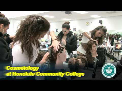 Cosmetology at Honolulu Community College