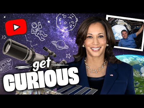 Vice President Kamala Harris and an Astronaut? What A Day! | Get Curious with Vice President Harris
