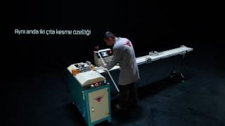 Yılmaz Makine | CK 412 - PVC Çıta Kesme Makinesi