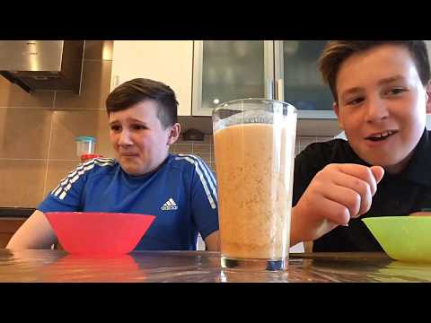 Horrible smoothie challenge W/Tom Dalton