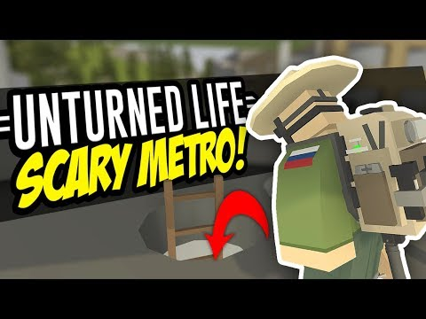 SCARY METRO - Unturned Life Roleplay #57