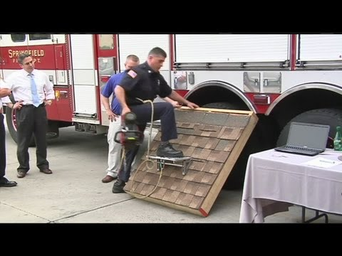 Firefighter invents lifesaving tool