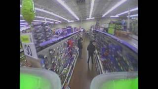 Flying a Drone in Walmart!