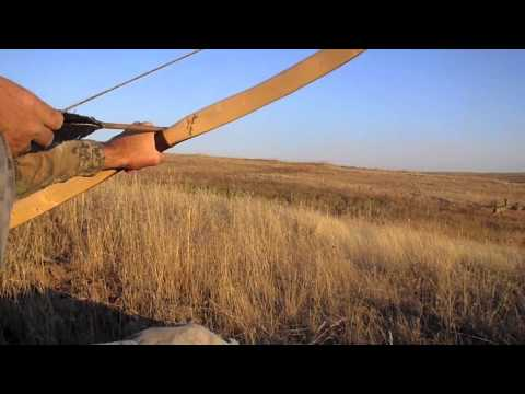 Otzi The Iceman Arrow Part 3.  Primitive Archery Bow Hunting for blacktail deer. Traditional Archery