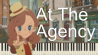 Layton's Mystery Journey - At The Agency [Synthesia]