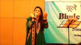 Simrat Chhabra performing Zara Si Aahat Hoti Hai To Dil Sochta Hai from movie Haqeekat(1964)