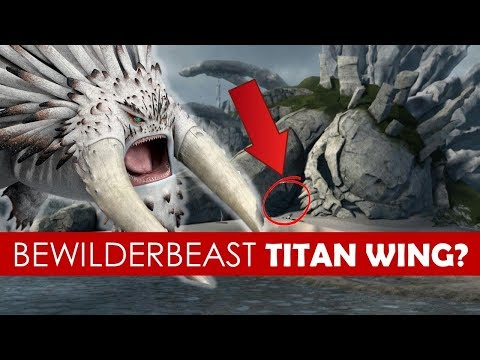 Are Bewilderbeasts Titan Wings? EXPLAINED [ How to Train Your Dragon l Race to the Edge l Theory ]