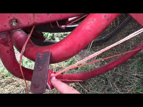 New Holland small square baler twine routing - How to
