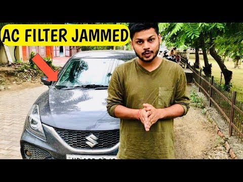 MY BALENO AC JAMMED 😭😭 | CLEAN AC FILTER AT HOME