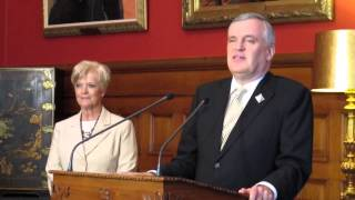 David Onley on his last day as Lieutenant-governor of Ontario