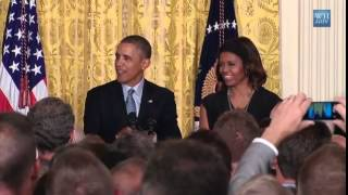 Obama Jokes White House Pastry Chef Puts Crack In His Pies