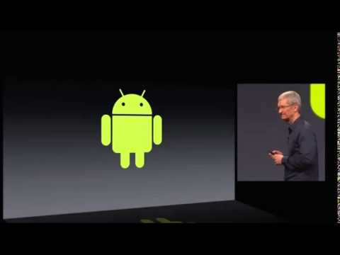Tim Cook Making Fun Of Android