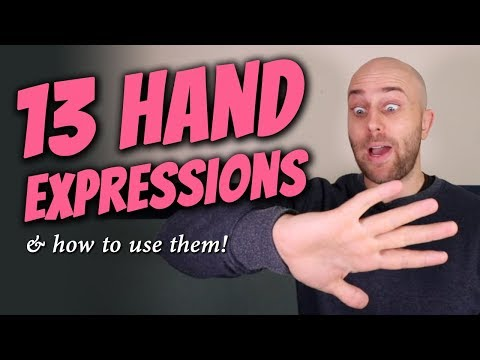 13 Hand Expressions in English + TEST