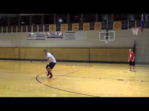 Defensive Footwook Drill  - San Antonio Basketball Camp
