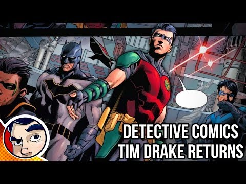 "Batman ""Tim Drake Is Alive & Evil!"" - Rebirth Complete Story"