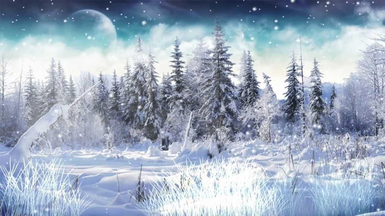winter snow animated wallpaper 2 0