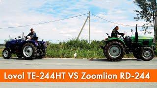Пе-244HT ловол проти Zoomlion на РД-244