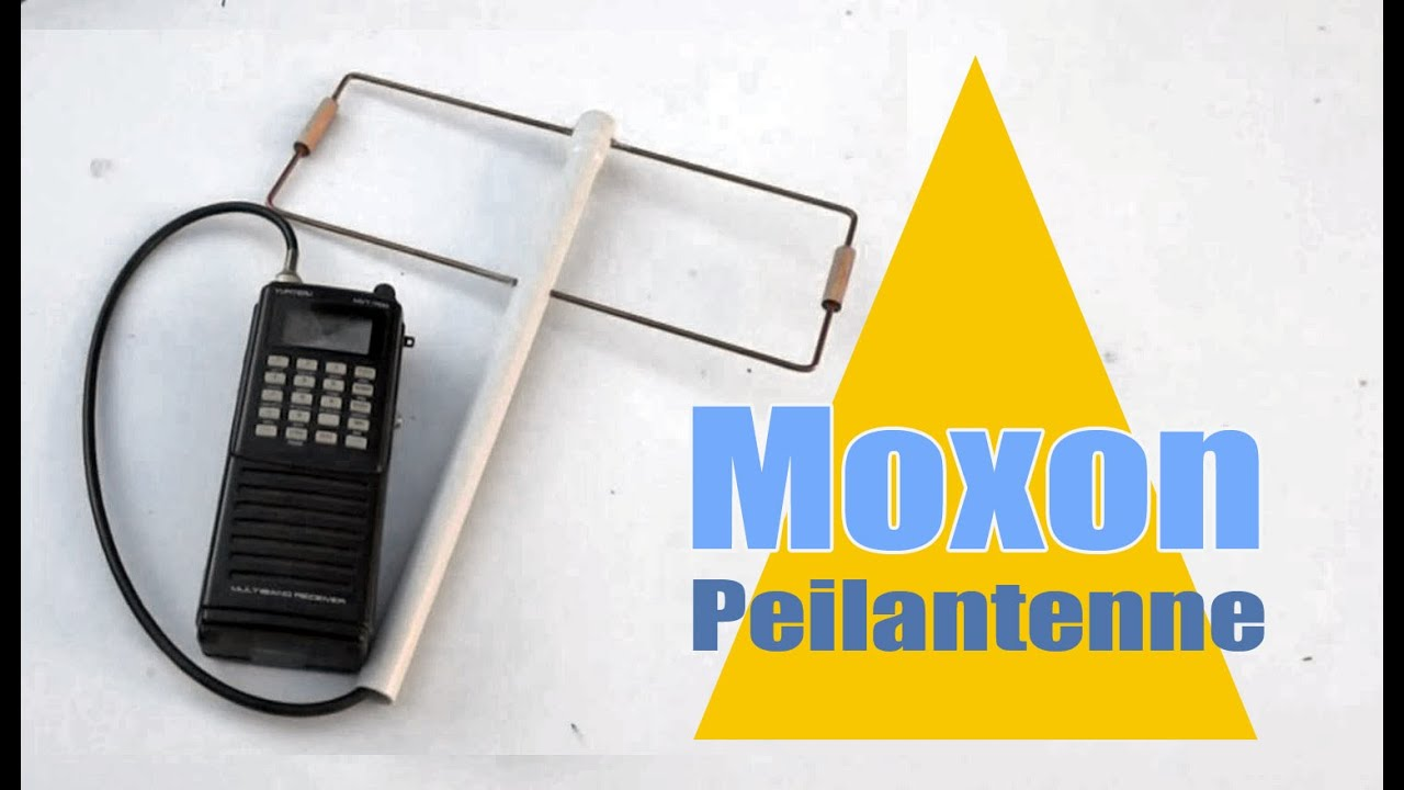 moxon mini peilantenne selber bauen antenna with. Black Bedroom Furniture Sets. Home Design Ideas