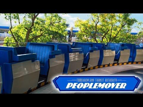 [4K] Peoplemover - Magic Kingdom