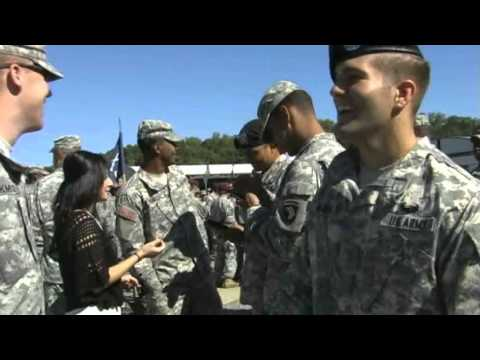 US Army Air Assault School Graduation at Fort Campbell, Kent