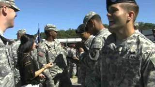 US Army Air Assault School Graduation at Fort Campbell, Kentucky